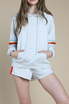 Shoptiques Product: Rainbow Sweatshirt