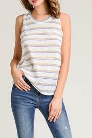 Wasabi + Mint Rainbow Tank Top - Front cropped