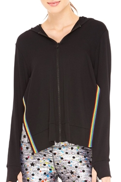 Shoptiques Product: Rainbow Tape Hoodie