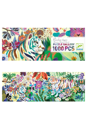 Djeco Rainbow Tigers 1000 Piece Puzzle - Product Mini Image
