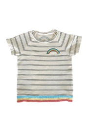 TINY WHALES Rainbow Top - Front cropped