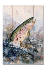 Daydream HQ Rainbow Trout Print - Product Mini Image