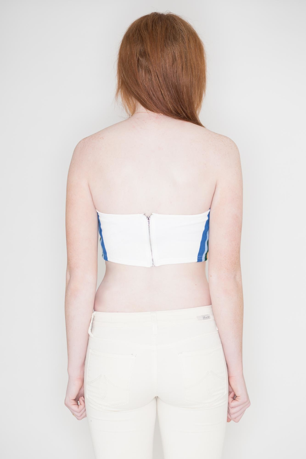 Honey Punch Rainbow Tube Top - Side Cropped Image