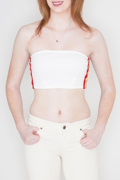Honey Punch Rainbow Tube Top - Product List Image