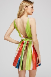 luxxel Rainbow Twist Dress - Side cropped