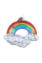RAZ Imports Rainbow Wishes Ornament - Product Mini Image