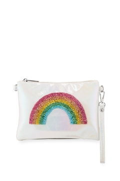 Bari Lynn Rainbow Wristlet Crossbody Bag - Product List Image