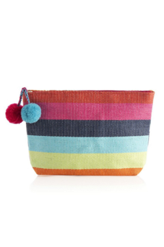 Shiraleah Rainbow Zipper Pouch - Product List Image