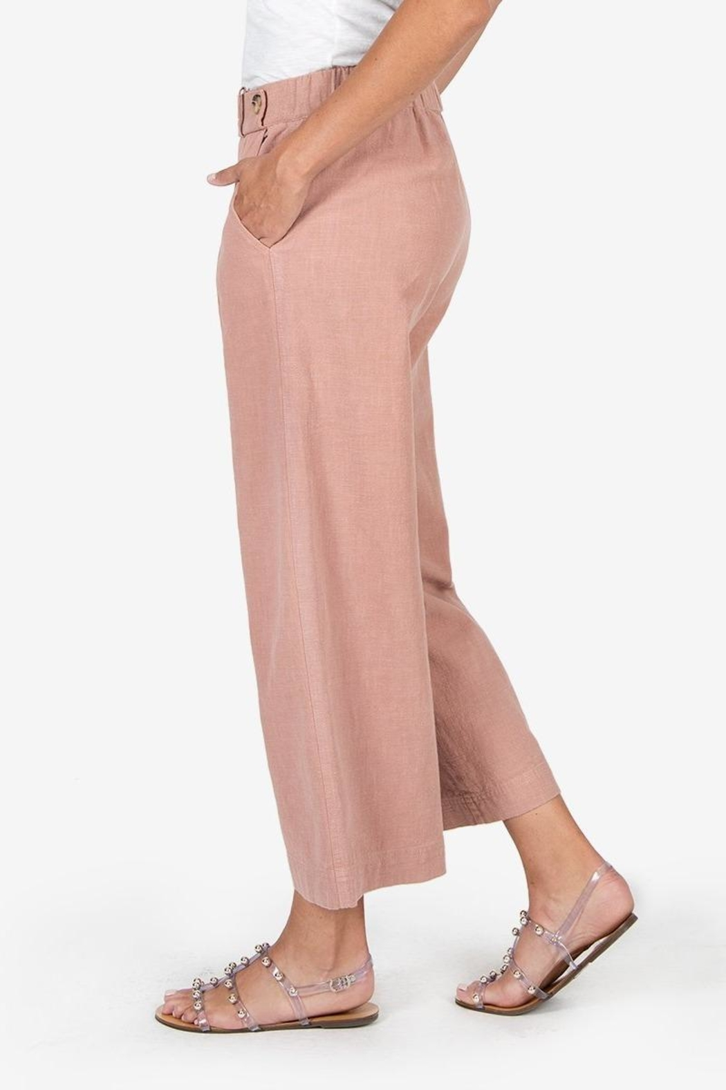 Kut from the Kloth Raine Culotte Pant - Front Full Image