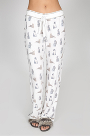 PJ Salvage Raining Cats & Dogs Pant - Product Mini Image