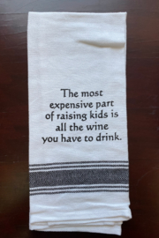 Wild Hare Designs  Raising Kids Dish Towel - Product Mini Image