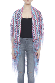 Raj Lotus Raj Cardigan Chevron Pattern - Side cropped