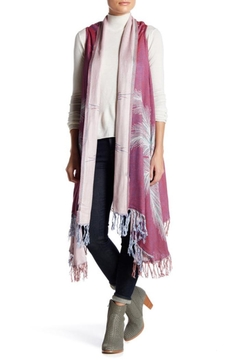Shoptiques Product: Feather Print Wrap