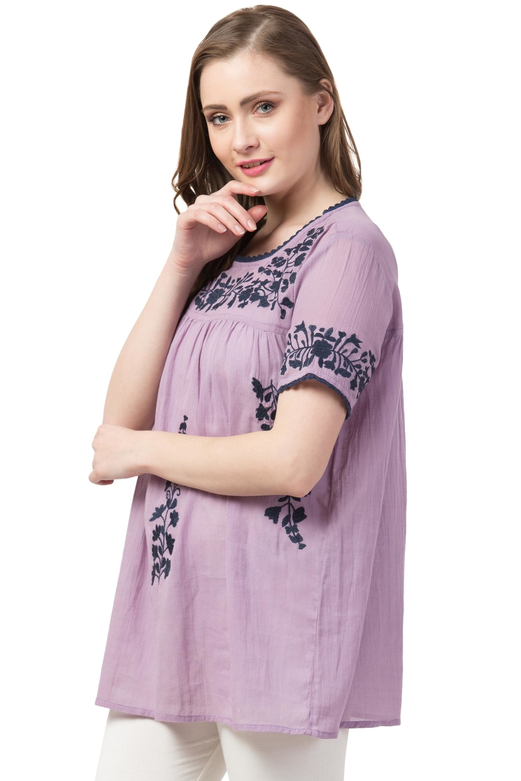 Raj Lotus Raj Bohemain Tunic - Side Cropped Image