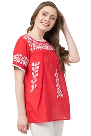 Raj Lotus Raj Bohemain Tunic - Back cropped