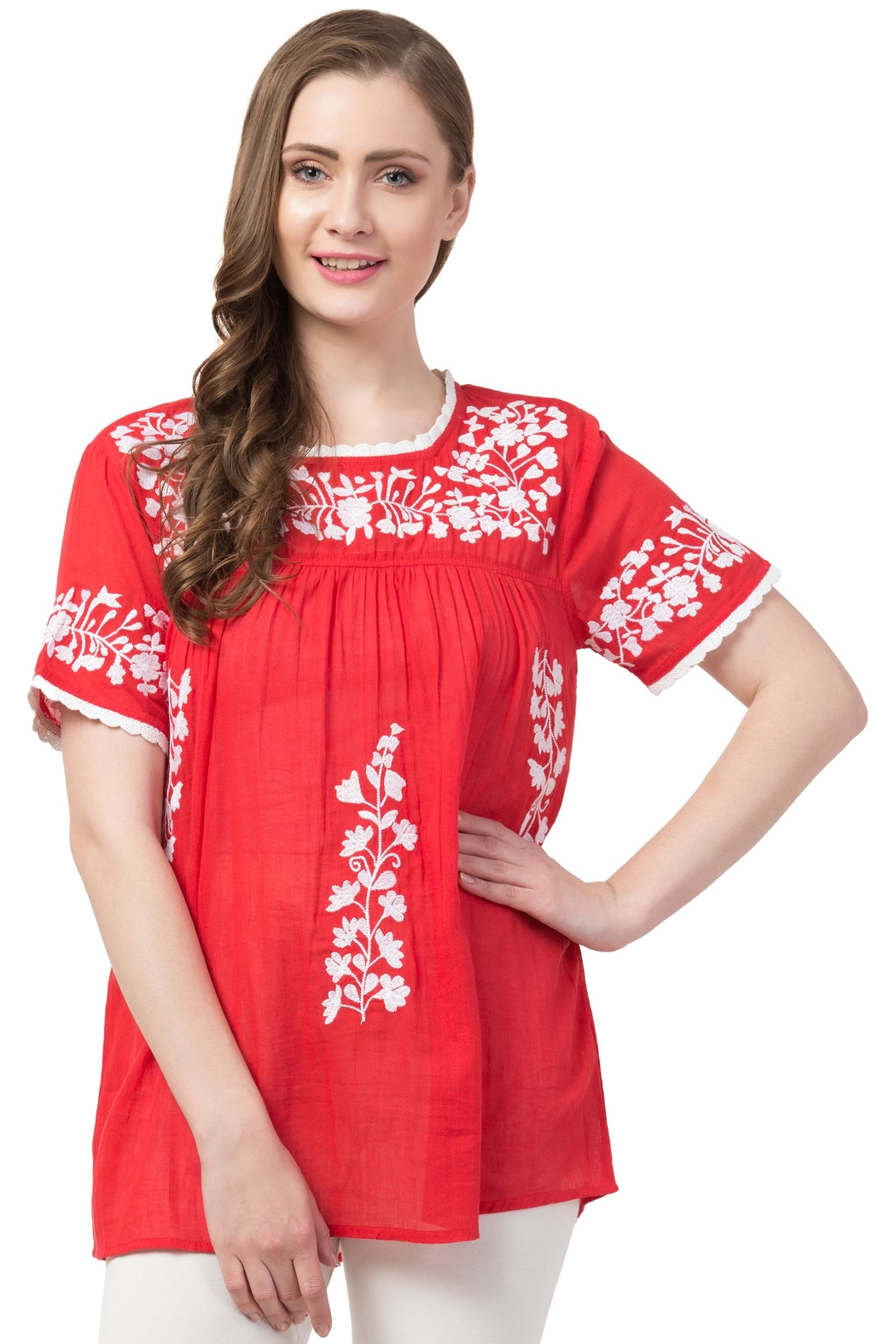 Raj Lotus Raj Bohemain Tunic - Front Full Image