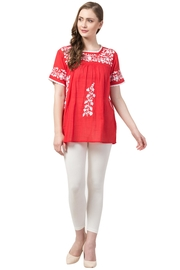 Raj Lotus Raj Bohemain Tunic - Front cropped