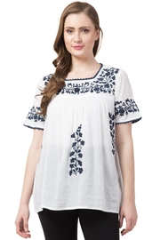 Raj Lotus Raj Bohemain Tunic - Front full body