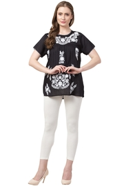Raj Lotus Raj Embroidered Top - Front cropped
