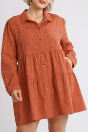 umgee  Raleigh Dress Curvy - Front cropped