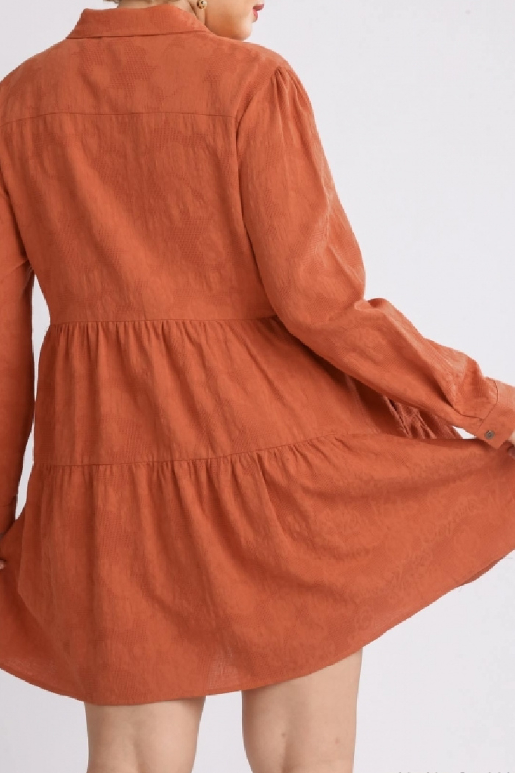 umgee  Raleigh Dress Curvy - Front Full Image