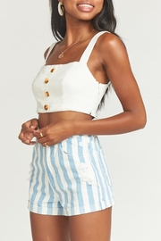 Show Me Your Mumu Raleigh Roll-Up Shorts - Side cropped