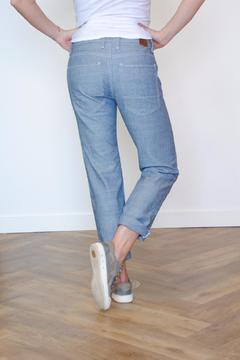 Raleigh Denim Relaxed Rinse Jean - Alternate List Image
