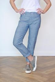 Raleigh Denim Relaxed Rinse Jean - Product Mini Image