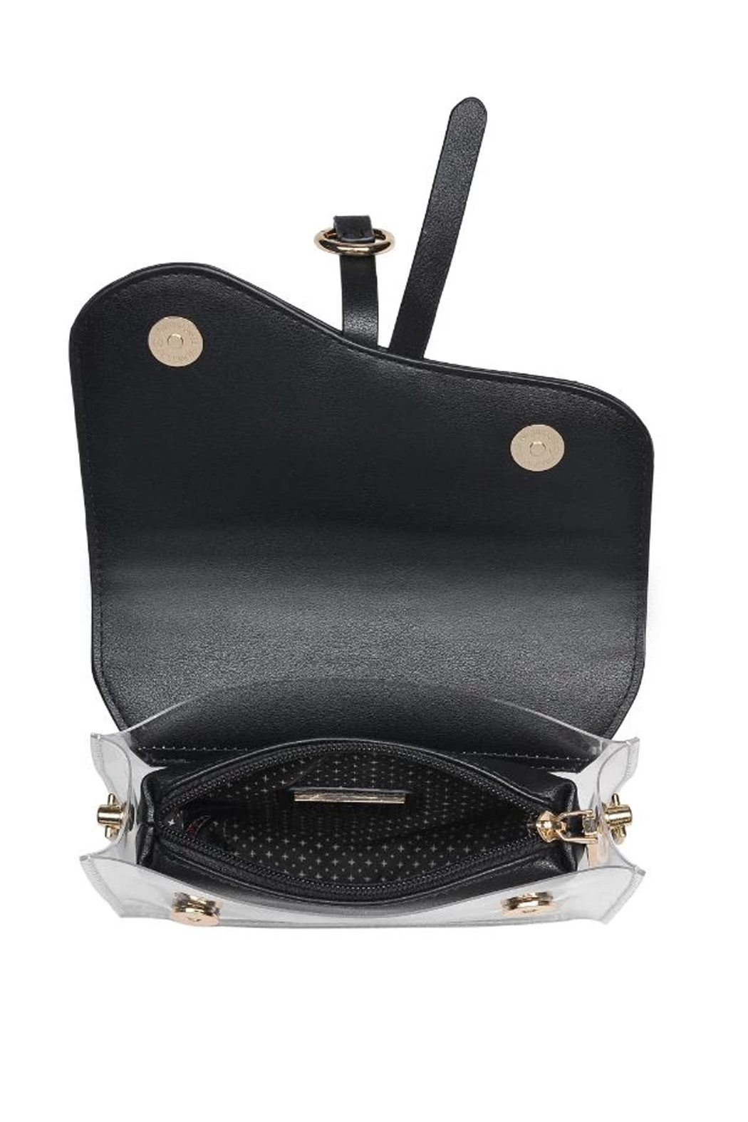 Urban Expressions Rally Vegan Leather Crossbody - Side Cropped Image