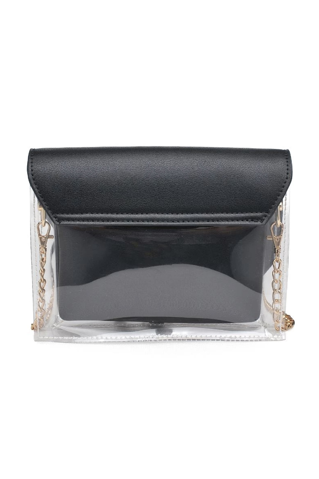 Urban Expressions Rally Vegan Leather Crossbody - Back Cropped Image
