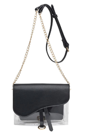 Urban Expressions Rally Vegan Leather Crossbody - Product Mini Image