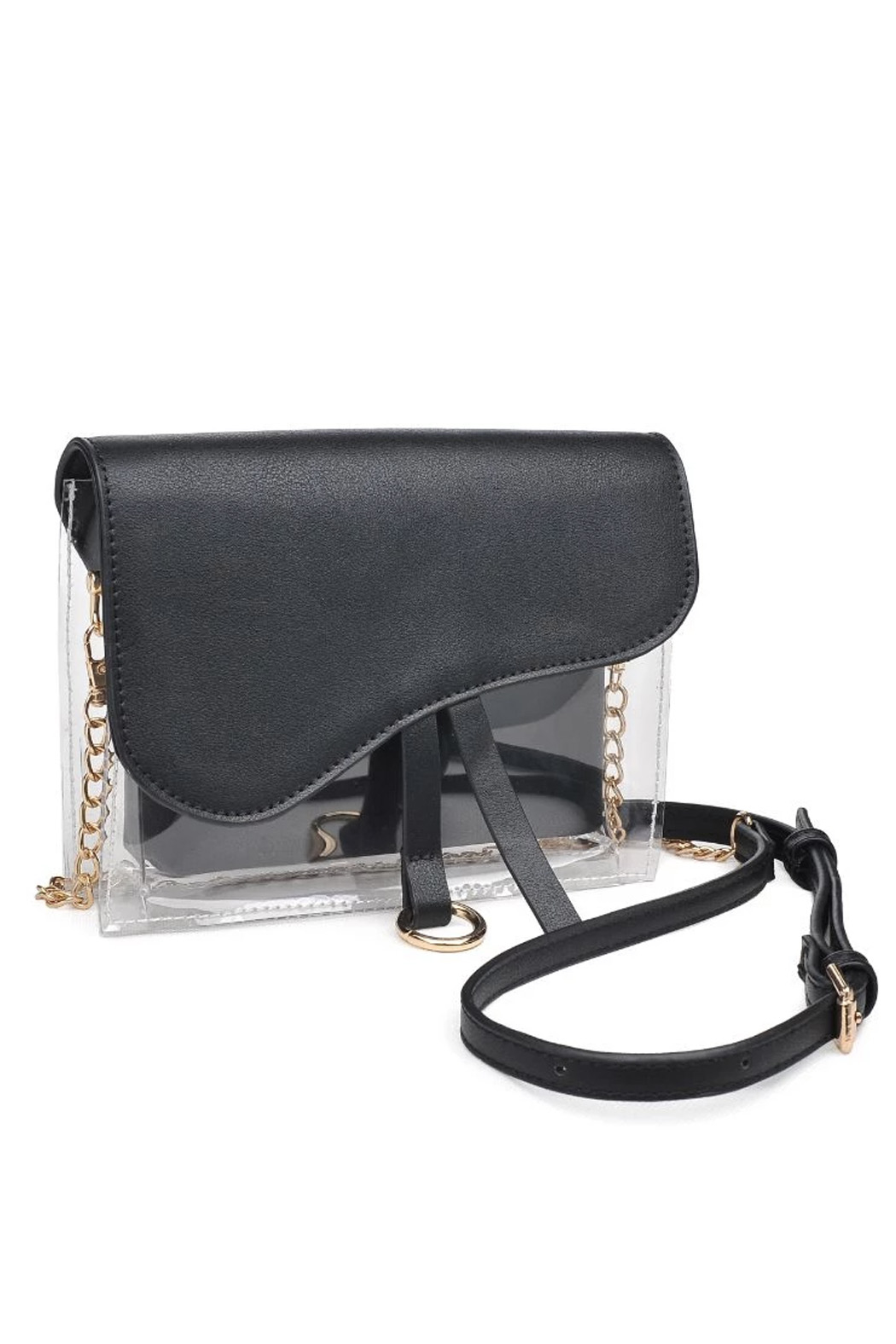 Urban Expressions Rally Vegan Leather Crossbody - Front Full Image
