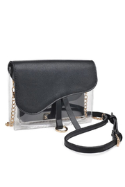 Urban Expressions Rally Vegan Leather Crossbody - Front full body