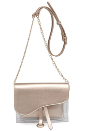 Urban Expressions Rally Vegan Leather Crossbody - Front cropped