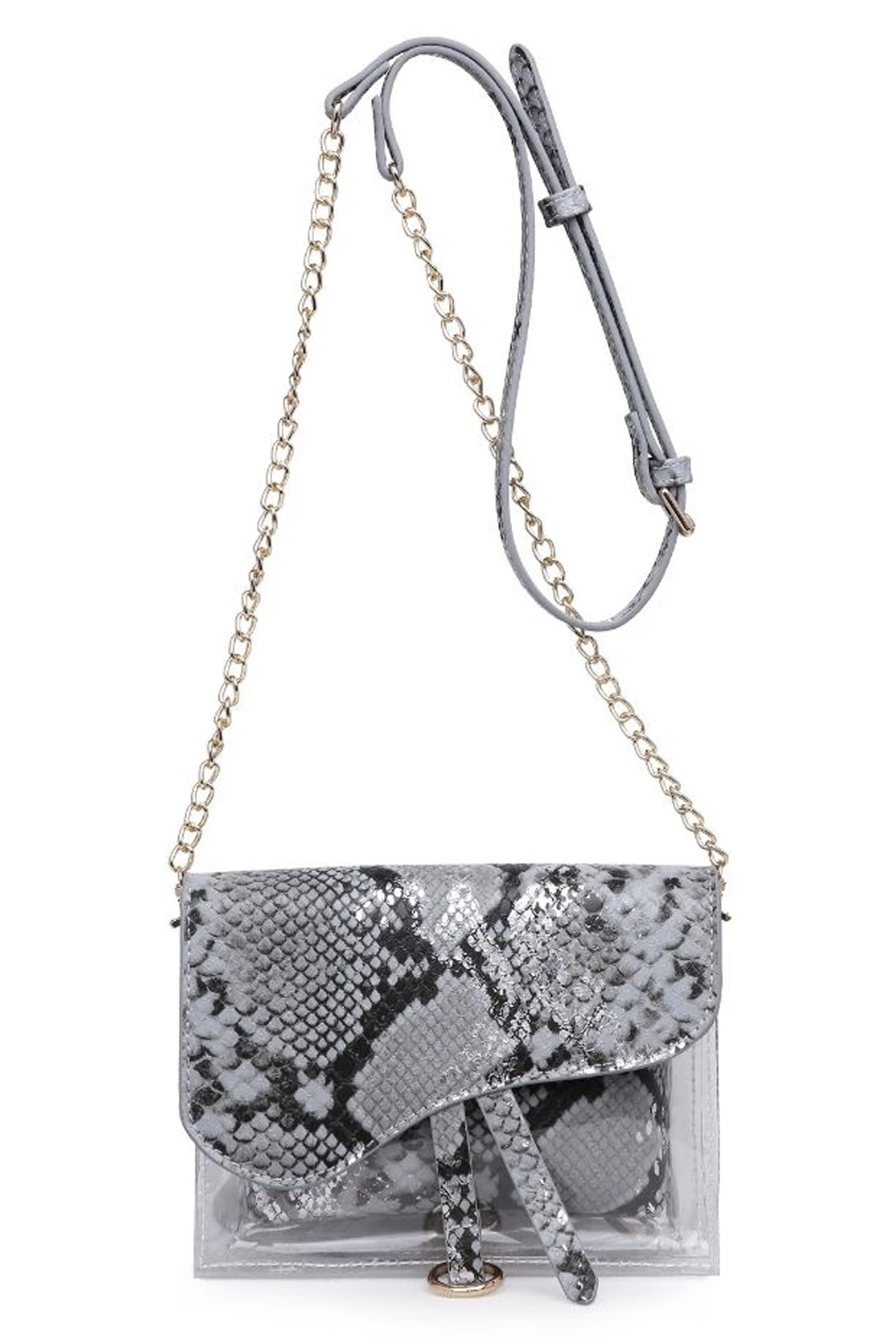 Urban Expressions Rally Vegan Leather Crossbody - Front Cropped Image