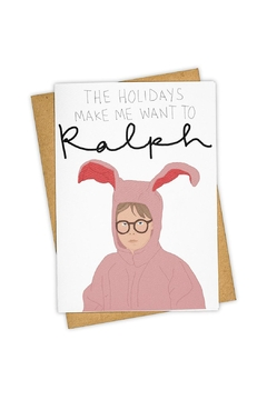 TAYHAM Ralph Holiday Card - Product List Image