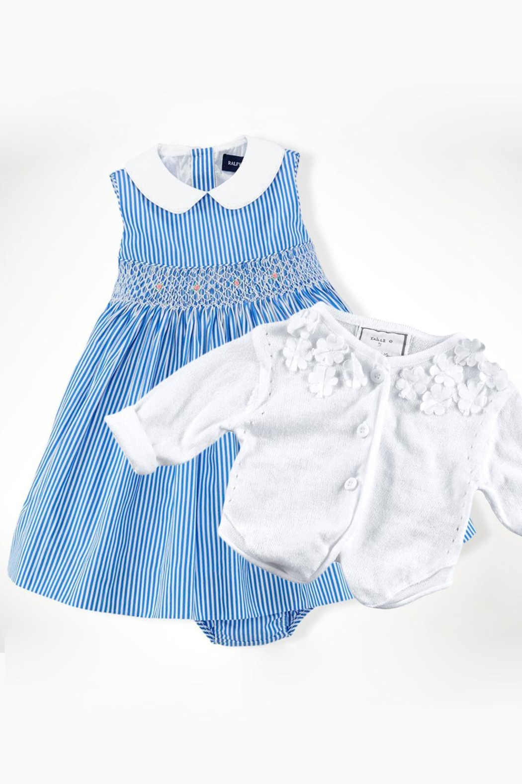 Ralph Lauren Baby Bengal Striped Dress - Side Cropped Image