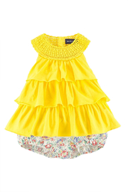 Ralph Lauren Baby Sunshine-Tunic & Floral-Bloomer Set - Front cropped