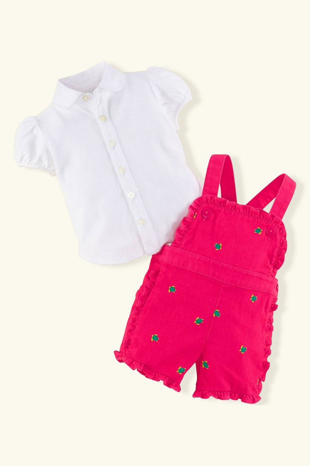 Ralph Lauren Baby Turtle Jumper Set - Front Full Image