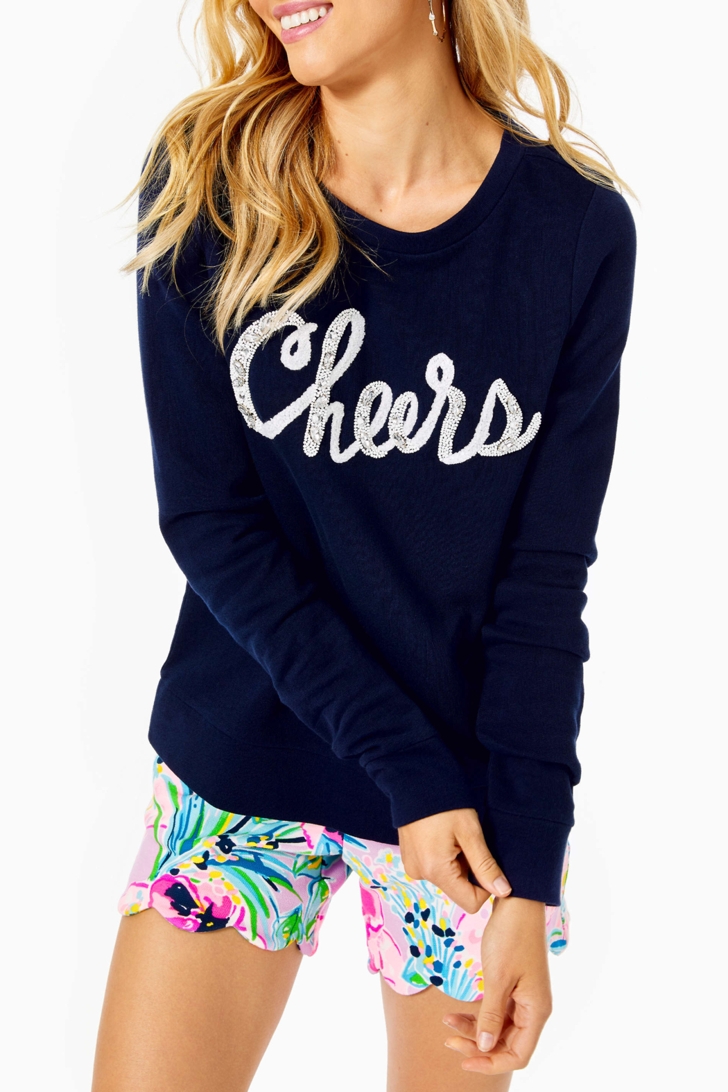 Lilly Pulitzer  Rami sweatshirt 007121 - Front Cropped Image