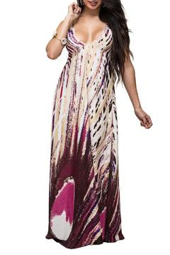 Shoptiques Product: Maxi Print Dress