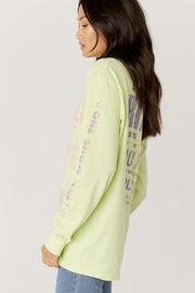 Daydreamer  Ramones Hollywood Oversized Long Sleeve Tee - Side cropped