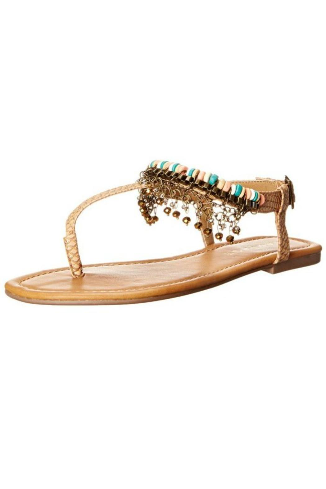 2f8cce03c61 Rampage Beaded Fringe Sandal from Atlanta by Sassy Prints — Shoptiques