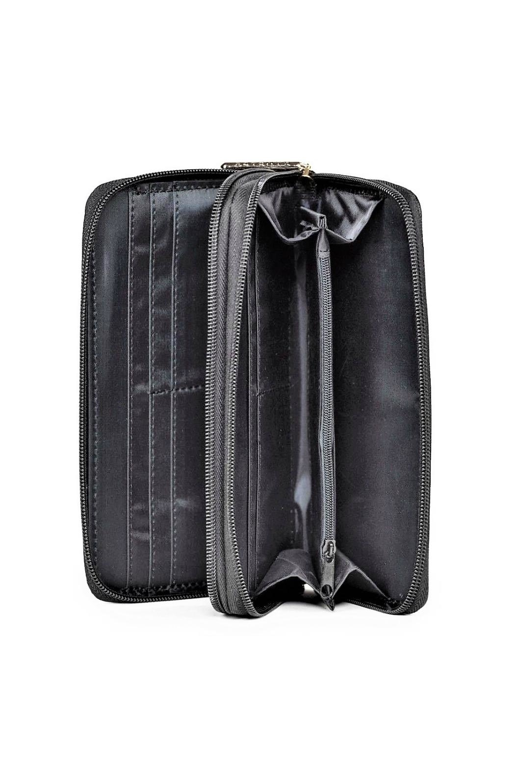 Rampage Double Zip Wallet - Back Cropped Image