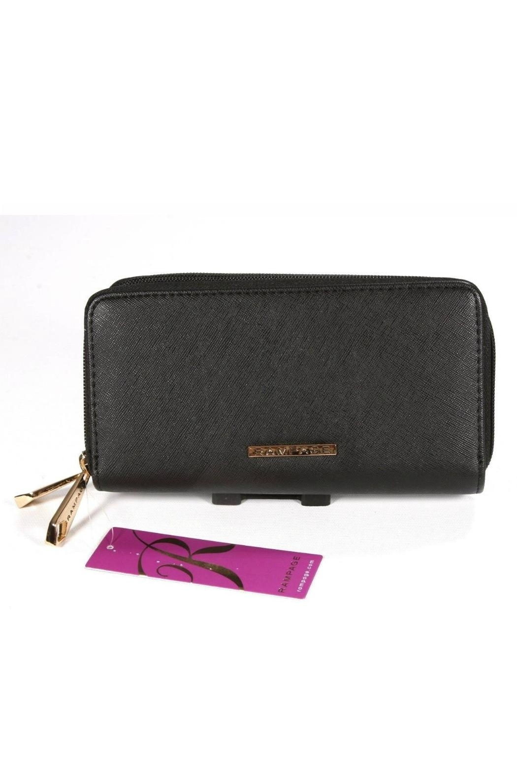 Rampage Double Zip Wallet - Front Full Image