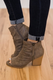 Rampage Peep Toe Bootie - Front cropped