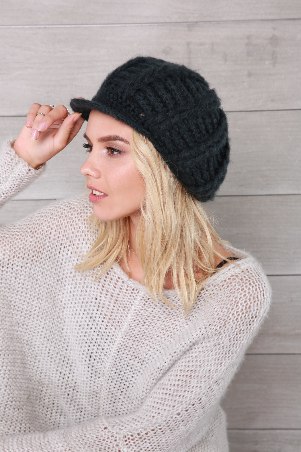Wooden Ships Ramsey Knit Cap - Front Full Image