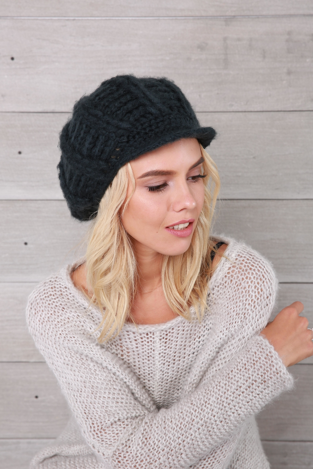Wooden Ships Ramsey Knit Cap - Back Cropped Image
