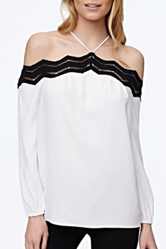 Shoptiques Product: White Off-Shoulder Blouse