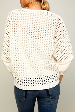 Line & Dot Ranael Jacket - Alternate List Image